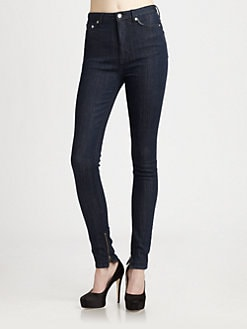 BLK DNM - High-Rise Skinny Jeans