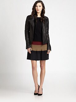 A.L.C. - Tilber Quilted Leather Moto Jacket