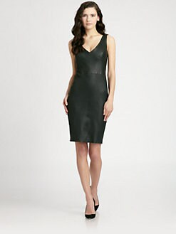 A.L.C. - Parker Leather Dress