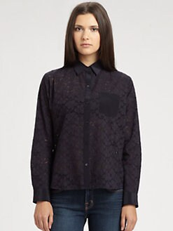 Athe Vanessa Bruno - Lace Shirt