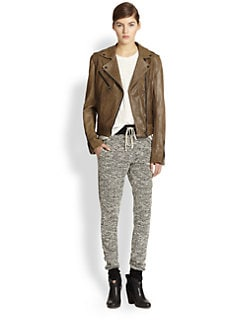 Rag & Bone - Bowery Convertible Leather Jacket