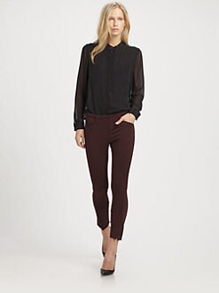 3.1 Phillip Lim - Silk Henley Blouse