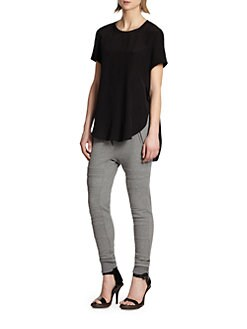 3.1 Phillip Lim - Satin Silk Tee