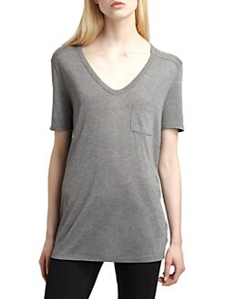 T by Alexander Wang - Classic Pocket Tee
