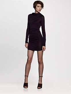 T by Alexander Wang - Hooded Drape Dress