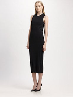 T by Alexander Wang - Jersey Open Cowlback Dress