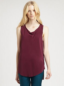 3.1 Phillip Lim - Draped Hi-Lo Top