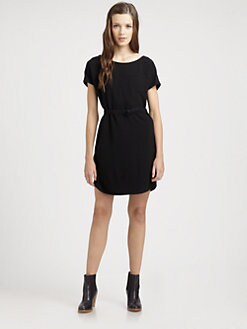 A.P.C. - Belted Knit Dress