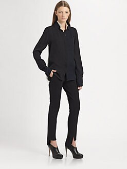 10 Crosby Derek Lam - Silk Shirttail Blouse