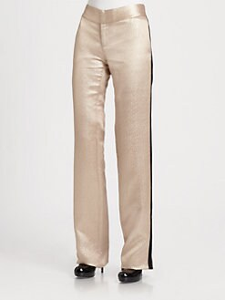 10 Crosby Derek Lam - Metallic Wide-Leg Pants