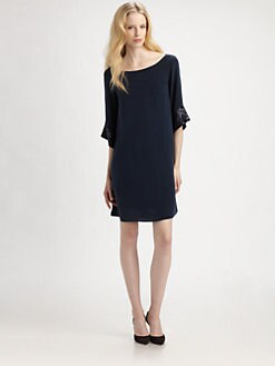 Elizabeth and James - Sequined Silk Elisa Dress