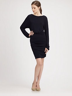 Cut 25 by Yigal Azrouel - Matte Jersey Long-Sleeve Dress