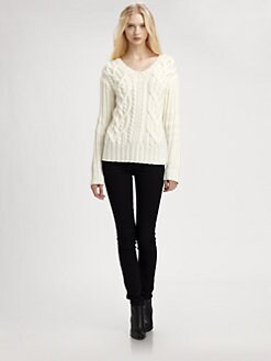 Cut 25 by Yigal Azrouel - Cable-Knit Sweater