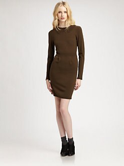 Cut 25 by Yigal Azrouel - Merino Long-Sleeve Dress
