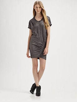 IRO - Ashley Metallic Dress