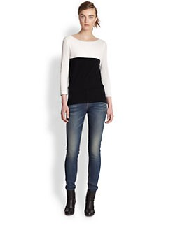 Rag & Bone - Nola Colorblock Top