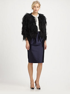 By Malene Birger - Ostrich Feathers Jacket