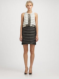 By Malene Birger - Sleeveless Beaded Shift Dress