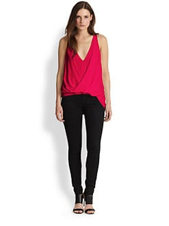 Elizabeth and James - Tiana Draped Crossover Top