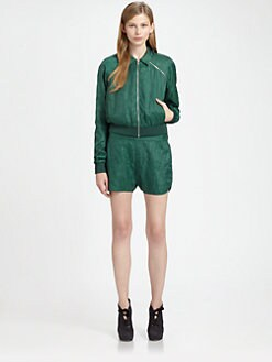 Acne - Crinkled Convertible Jacket