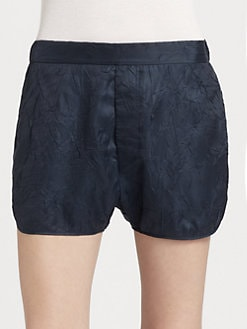 Acne - Crinkled Shorts