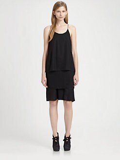 Acne - Tiered Dress
