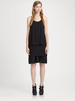Acne Studios - Диференцирани рокля