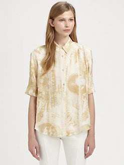 Acne - Money-Print Top