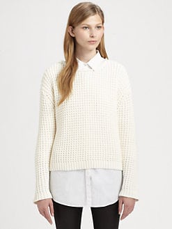 Acne - Honeycomb Boatneck Sweater