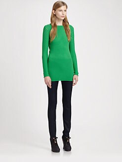 Acne - Perforated Tunic