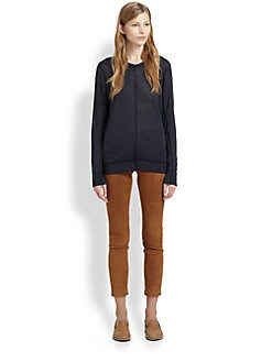 Acne - Open-Back Silk Sweater