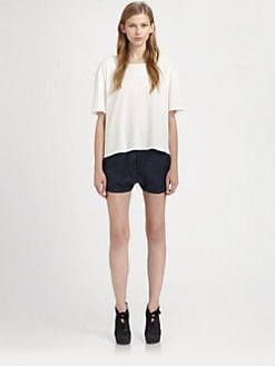 Acne - Boxy Cotton Tee
