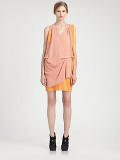 Acne - Draped Cutout Dress