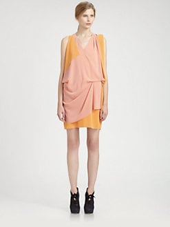 Acne Studios - драпирани силует рокля