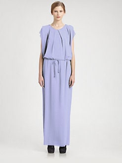 Acne - V-Back Maxi Dress
