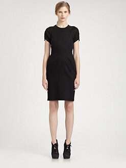 Acne - Short-Sleeve Dress