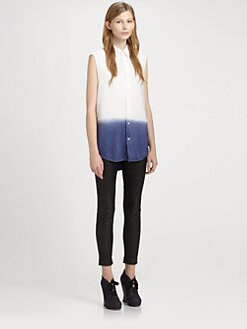 Acne - Sleeveless Ombre Shirt