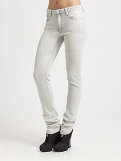 Acne - Flex Faded Skinny Jeans