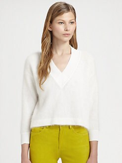 Acne - Deep V-Neck Sweater