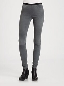 Helmut Lang - Patina Stretch Leather Pants
