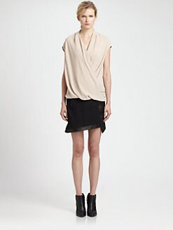 Helmut Lang - Draped Top