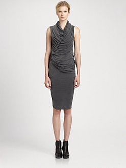 Helmut Lang - Shade Cowlneck Dress