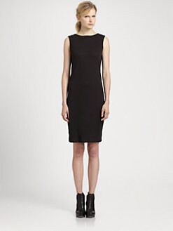 Helmut Lang - HELMUT Helmut Lang Feather Jersey Dress