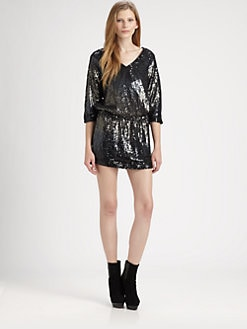 Haute Hippie - Ombre Theodora Sequin Dress