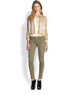 Haute Hippie - Embellished Silk Jacket