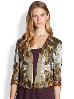Haute Hippie - Fire David Bowie Silk Jacket