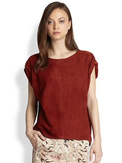 See by Chloe - Suede Dolman Top