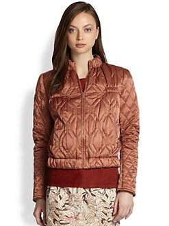 See by Chloe - Quilted Bomber Jacket