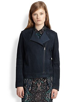 See by Chloe - Suede Moto Jacket