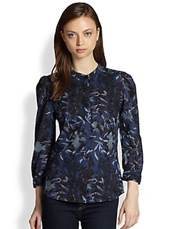 See by Chloe - Floral-Print Cotton Shirt